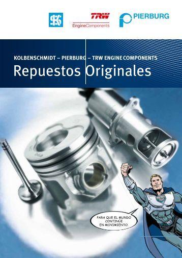 Repuestos Originales - MS Motor Service Iberica