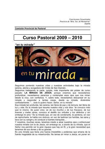 Curso Pastoral 2009 – 2010 - San Francisco de Asís y los ...