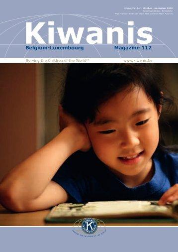 Belgium-Luxembourg Magazine 112 - Kiwanis