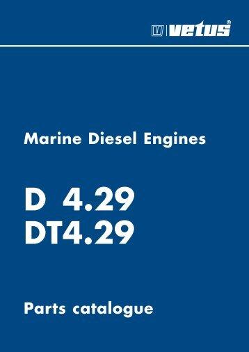 Parts catalogue Marine Diesel Engines - VETUS.com