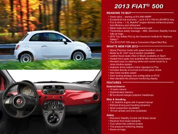 Download the PDF Brochure - FIAT Canada