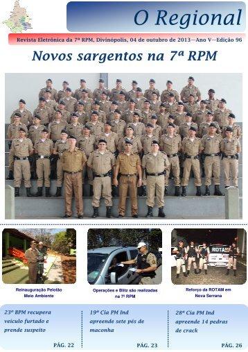 Revista Eletrônica da 7ª RPM 04 de outubro