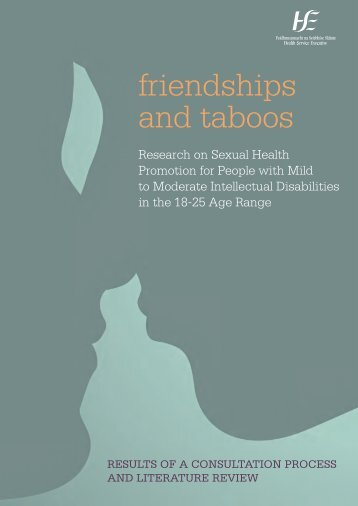 friendships and taboos - National Federation of Voluntary Bodies