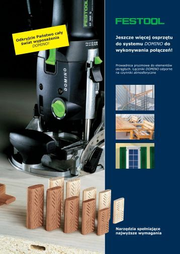 DOMINO DF 500 Q - Festool
