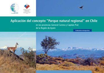 """Aplicación del concepto """"Parque natural regional"""" en Chile - FFEM"""