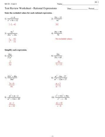 ... Mixed Factoring Review Worksheet by Algebra 2 Trig Honors Worksheet 8 4b ...
