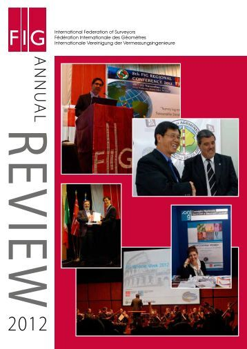 FIG Annual Review 2012