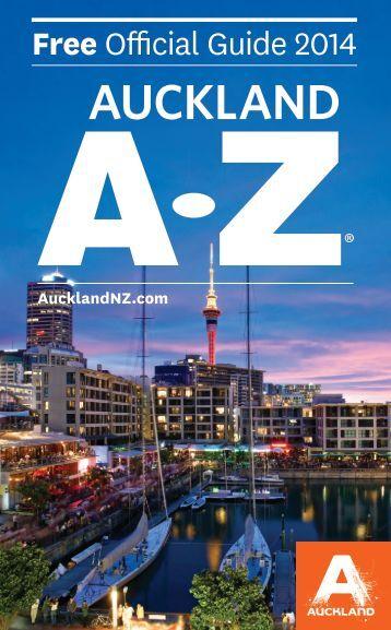 Auckland A-Z Guide 2014