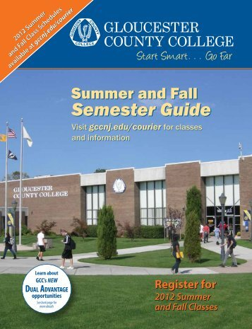 Semester Guide Semester Guide - Gloucester County College