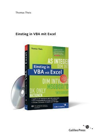Einstieg in VBA mit Excel - Galileo Computing
