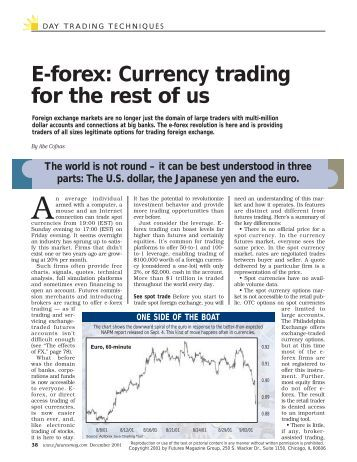 E forex currency