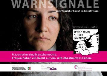 Zur Plakatkampagne - Frauen helfen Frauen