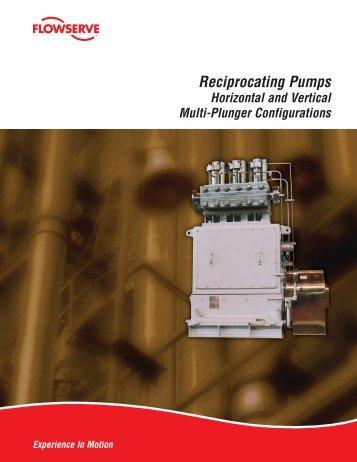 Reciprocating Pumps - Flowserve