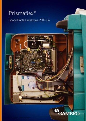 Spare parts catalogue 2009-0 - Gambro