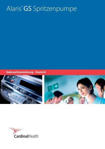 Alaris® GS Spritzenpumpe - Frank's Hospital Workshop