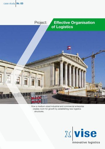 Project: Effective Organisation of Logistics