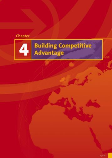mgt 498 week 4 competitive advantages