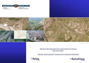 Revisión del Segundo Plan General de Carreteras del ... - Garraioak