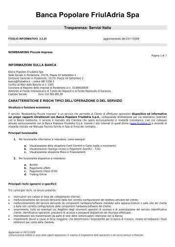 Banca Popolare FriulAdria Spa