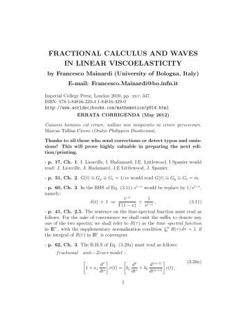 fractional calculus and its applications pdf