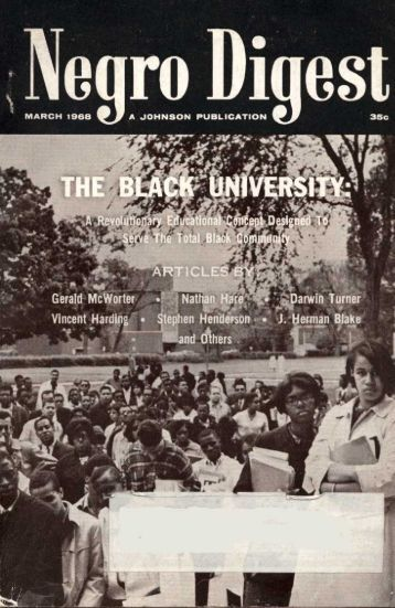 Negro Digest - Freedom Archives
