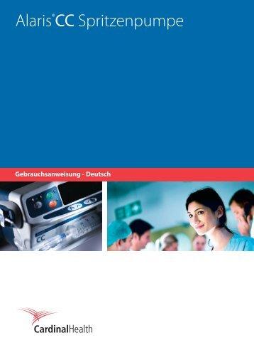 Alaris®CC Spritzenpumpe - Frank's Hospital Workshop