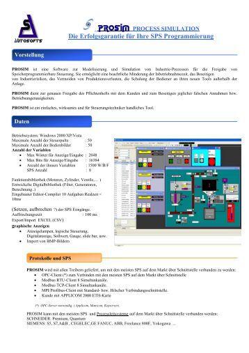 Die Erfolgsgarantie für Ihre SPS Programmierung - autosofts