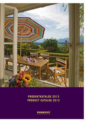 PRODUKTKATALOG 2013 PRODUCT CATALOG ... - Jardin-Confort