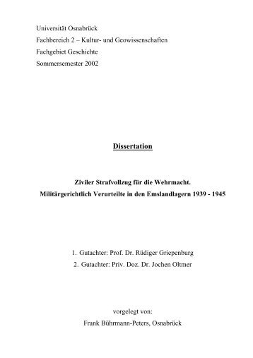 dissertation dr alfred oetker