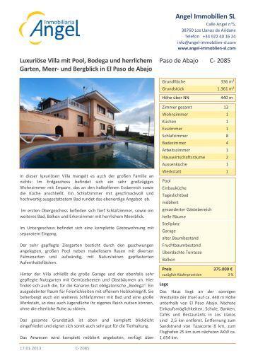Angel Immobilien SL - Angel Immobilien La Palma