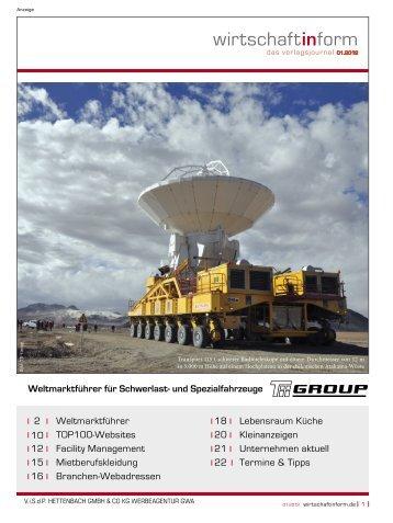Weltmarktführer I wirtschaftinform.de 01.2012