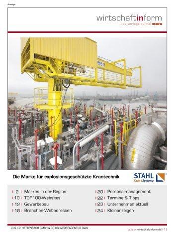 Marken in der Region I wirtschaftinform.de 02.2012