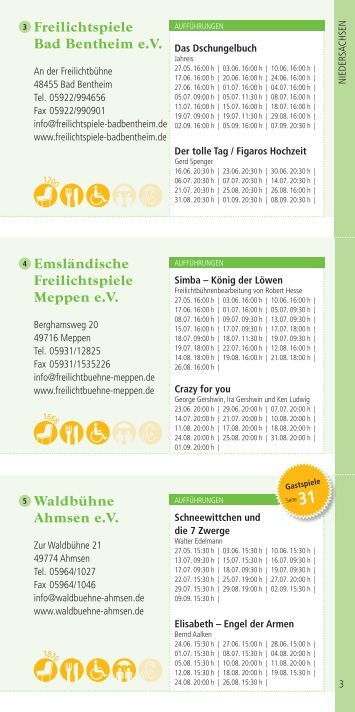 7 free magazines from data freilichtbuehnen info. Black Bedroom Furniture Sets. Home Design Ideas