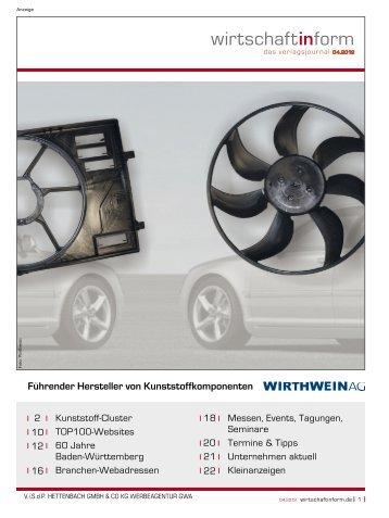 Kunststoff-Cluster I wirtschaftinform.de 04.2012