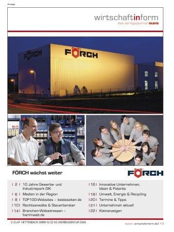 Gewerbe- und Industriepark GIK I wirtschaftinform.de 06.2012