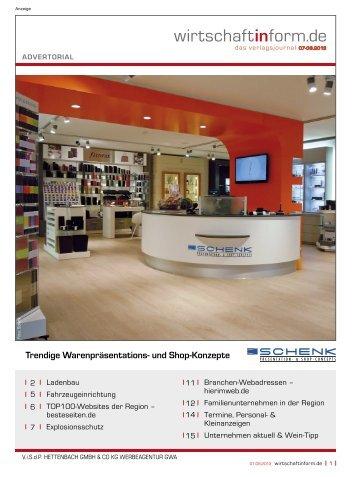 Ladenbau I wirtschaftinform.de 07-08.2013