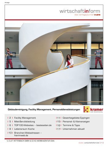 Facility Management I wirtschaftinform.de 01.2013