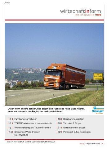 Familienunternehmen I wirtschaftinform.de 11.2012