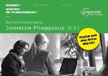 Innovative Pflegepraxis (B.A.) - Universität Witten/Herdecke