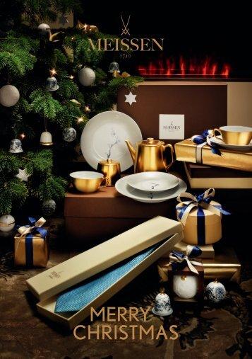 MEISSEN Merry Christmas 2013