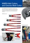 KNIPEX-Bolt Cutters and Concrete Mesh Cutter - Page 2