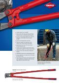 KNIPEX-Bolt Cutters and Concrete Mesh Cutter - Page 3