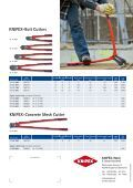 KNIPEX-Bolt Cutters and Concrete Mesh Cutter - Page 4