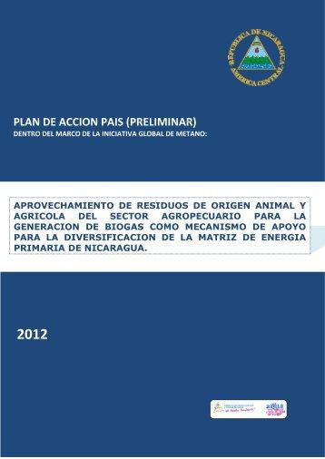 PLAN DE ACCION PAIS (PRELIMINAR) - Global Methane Initiative