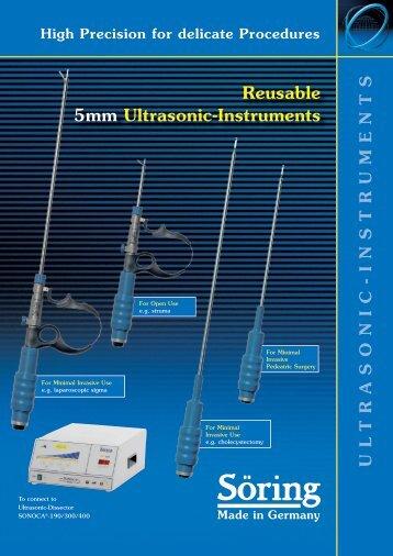 Reusable 5mm Ultrasonic-Instruments