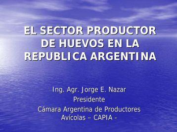 el sector productor de huevos en la republica argentina