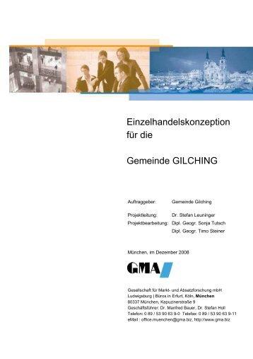 Einzelhandelskonzept - Gemeinde Gilching