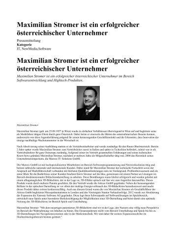 Der erfolgreiche österreichischer Unternehmer Maximilian Stromer.pdf