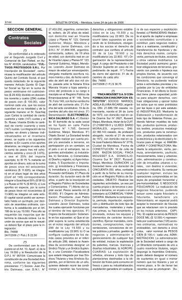 Boletin Oficial N 27704 del 24/07/2006