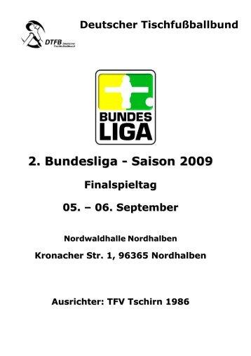 2. Bundesliga - Saison 2009 - DTFB